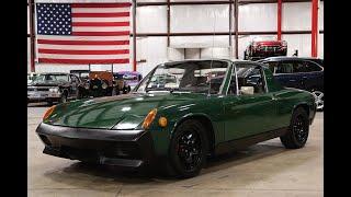 1972 Porsche 914 green