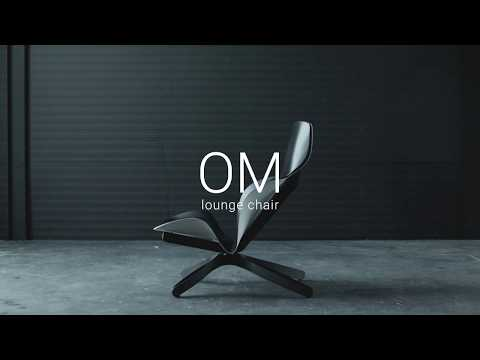 The OM lounge chair embodies biomimicry for better seating