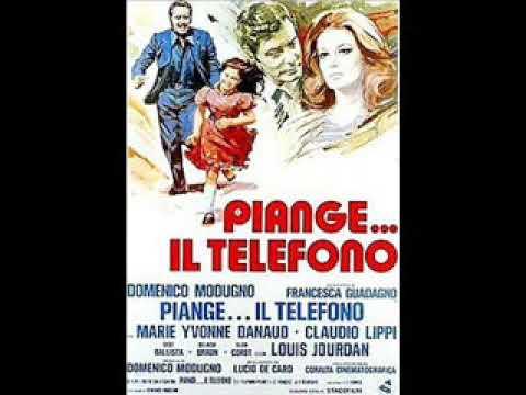 Piange Il Telefono Domenico Modugno 1975 Youtube