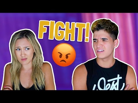 Thumbnail: COUPLES FIRST FIGHT!