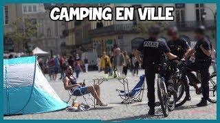 Camping dans le centre ville - Prank - Les Inachevés