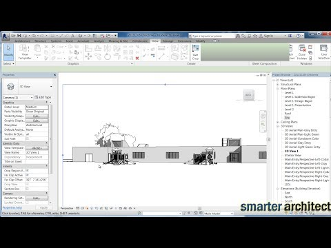 Revit City - Getting Started & Adding Revit Families To Projects