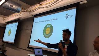 Smart Contracts on Bitcoin via Rootstock  (Boulder Startup Week 5-17-18)