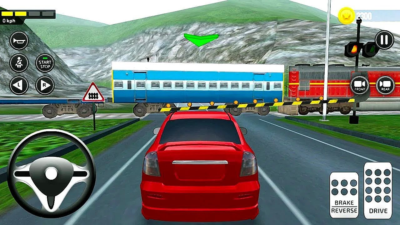Indian Car Driving Academy Simulator Android Gameplay Hd Gadi Wala Game Youtube