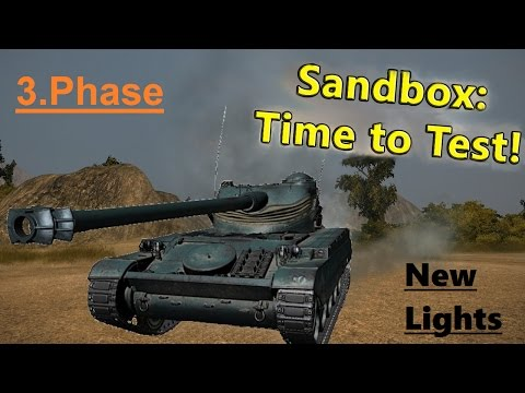 Wot Sandbox Phase 3. | New light tanks | Gameplay & Preview