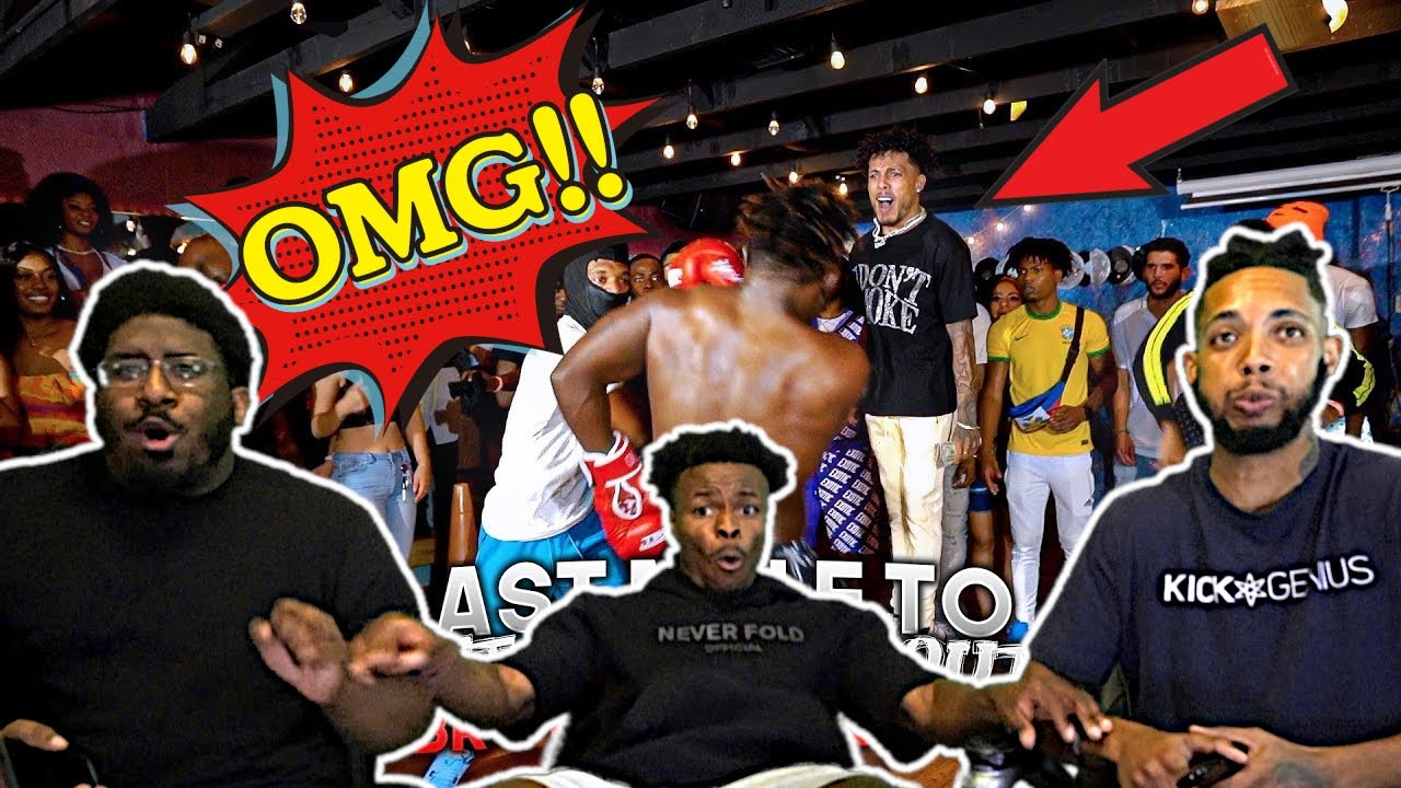 KING CID'S HYPEST BOXING EVENT YET!!   HouseReacts