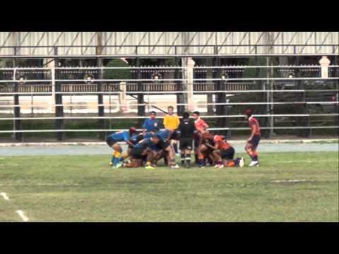 (2) Rugby U19-2013 !!! Afaps Vs KC ตอน2 Dt.070756