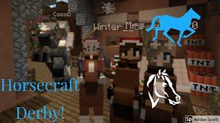HorseCraft Horse Race!! Minecraft Multiplayer Horse Server