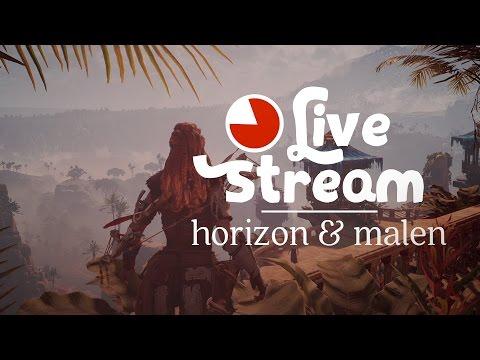 🔴 (23.3.2017 vorbei) Horizon Stream auf Twitch, danach malen