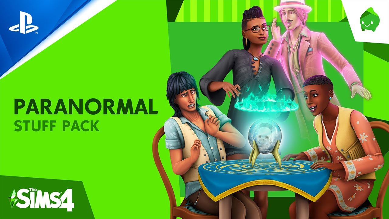 『The Sims 4 Paranormal Stuff Pack』公式発表トレーラー