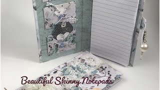 Make Your Own Skinny Notepad Tutorial