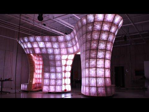ISU students design interactive pavilion for 80/35 music festival