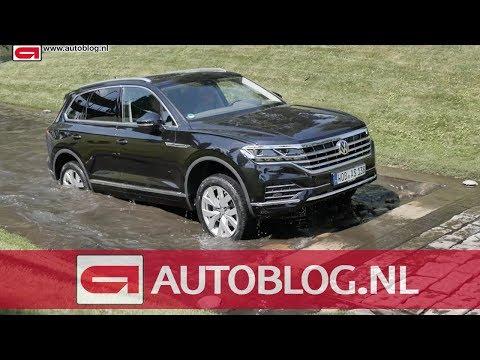 Offroad met de nieuwe Volkswagen Touareg