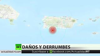Puerto Rico registra sismo de magnitud 5,8