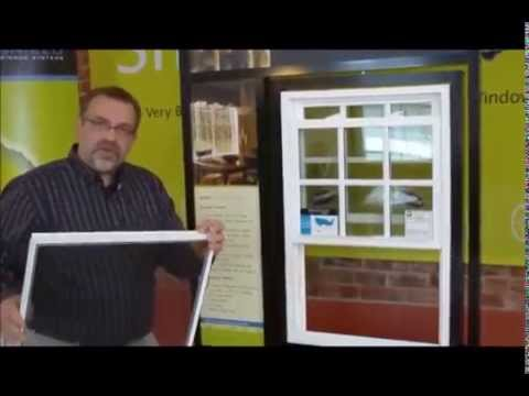 How to remove a screen from a vinyl replacement window