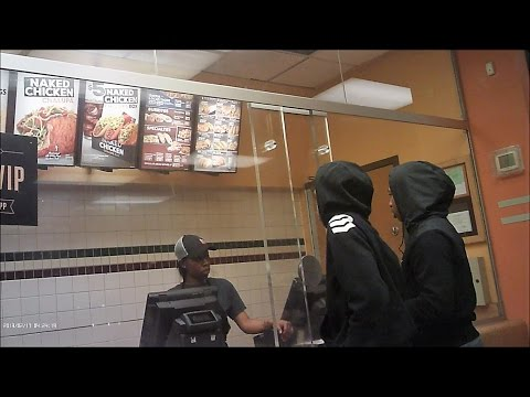 BULLET PROOF GLASS AT DETROIT WENDY