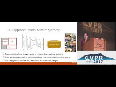 Spatial-Semantic Image Search by Visual Feature Synthesis | Spotlight 1-2A