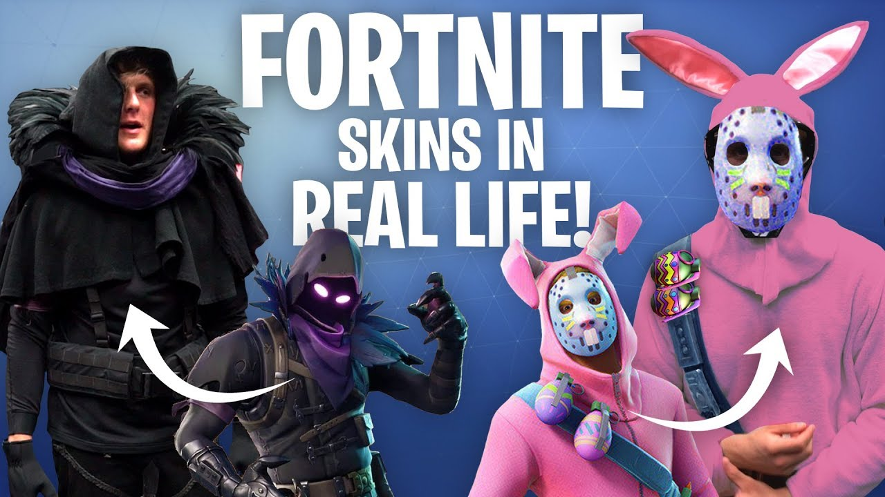 RECREATING FORTNITE SKINS IN REAL LIFE!! **challenge**