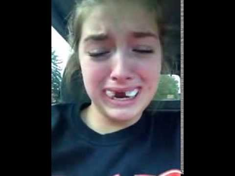 Girl Talks About Her NASCAR Career... After Having Her Wisdom Teeth Removed