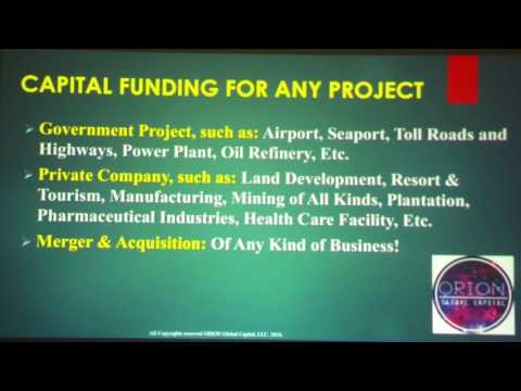 Venture Capital & Project Financing for Africa