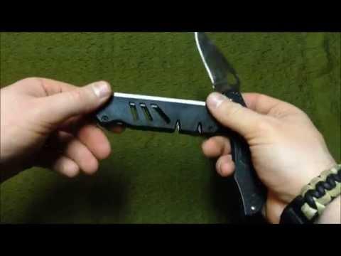 CAMILLUS FIELD SHARPENER - YouTube