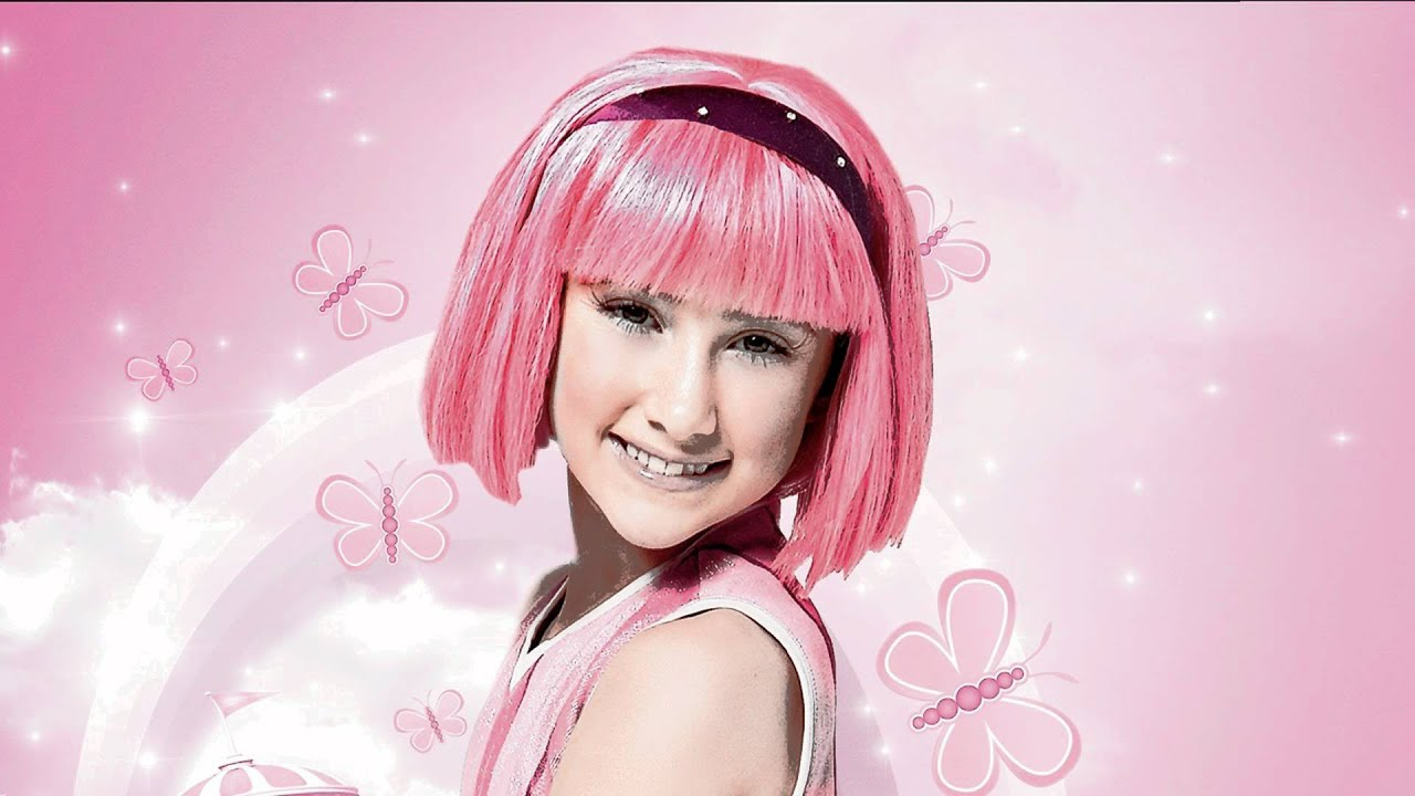 Think, that Stephanie lazytown lookalike video probably, were