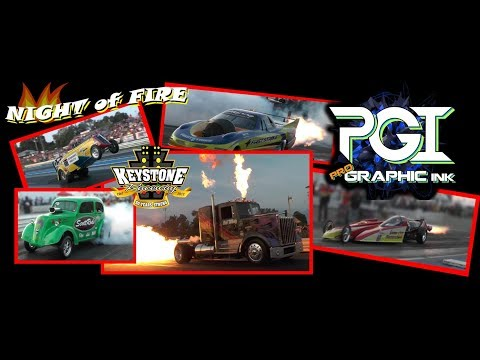 """Part One: 2017 Pro Graphic Ink """"Night of Fire"""" @ Keystone Raceway Park"""