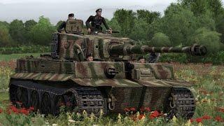 ОХОТА НА НЕМЕЦКИЙ ТАНК ТИГР H1 В Симуляторе про Вторую Мировую Войну ! Игра Iron Front 1944