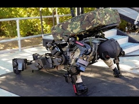 China's 2nd Generation Military Exoskeleton System as Good as US One