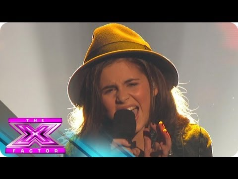 "Carly Rose Sonenclar's ""Rolling in the Deep"" - THE X FACTOR USA 2012"