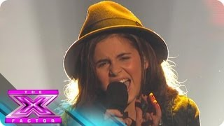 Carly Rose Sonenclar S Rolling In The Deep THE X FACTOR USA 2012