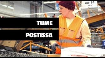 TUME OIKEISSA TÖISSÄ: Postissa