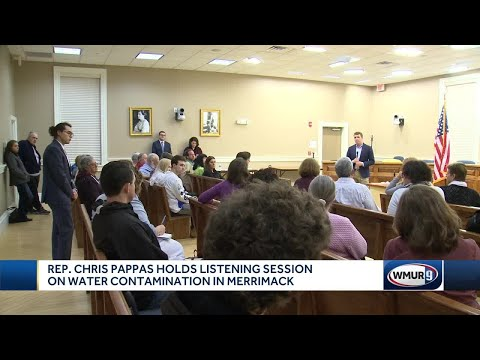 Pappas Holds Public Forum On Water Contamination In Merrimack