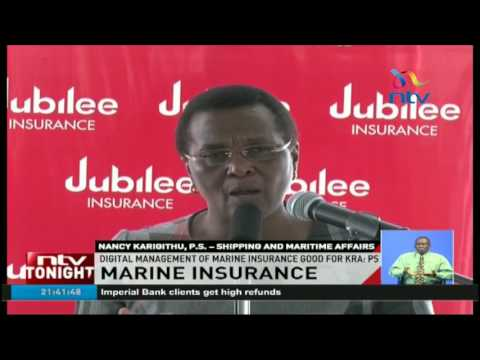 Jubilee launches online portal for marine cargo insurance