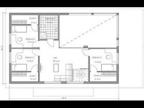Planos de casas peque as con dos dormitorios youtube for Planos de casas youtube