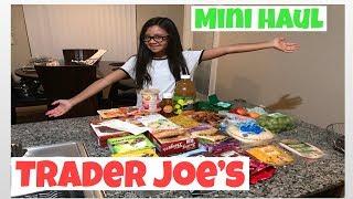 Trader Joe's mini grocery haul