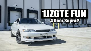 homepage tile video photo for RIPPING AROUND IN MY TWIN-TURBO JZX90!