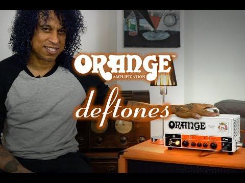 Orange Terror Bass - Sergio Vega of Deftones and Quicksand