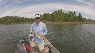 Repeat youtube video GoPro Fishing - Lake Sam Rayburn 2013