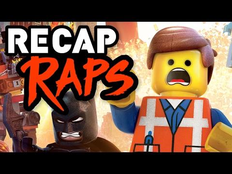 The LEGO MOVIE in 3 Minutes! (RECAP RAPS)