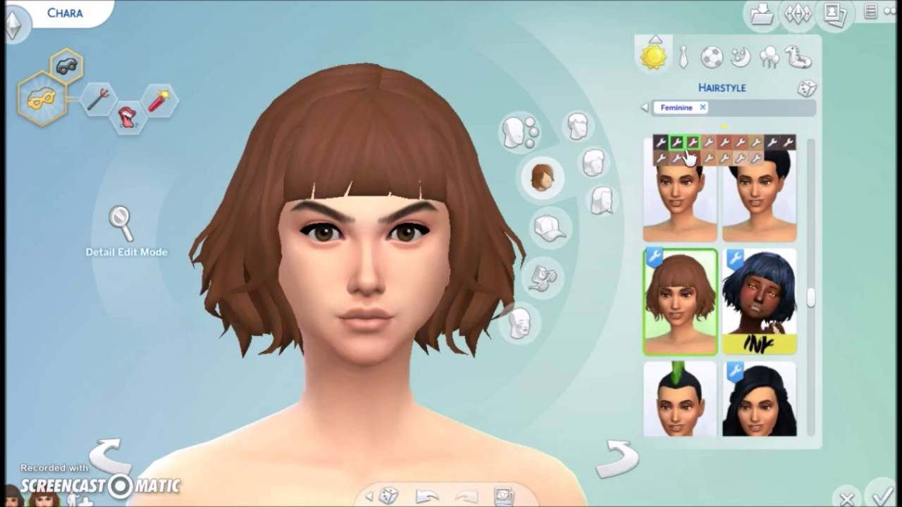 undertale frisk and chara sims 4 cas youtube