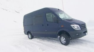 2014 Mercedes Sprinter 4x4 - Test Drive on Snow(2014 Mercedes-Benz Sprinter 319 BlueTec 4x4 (cavansite blue) ▻ SUBSCRIBE NOW: http://www.youtube.com/subscription_center?add_user=youcarpress ..., 2013-12-04T09:02:52.000Z)