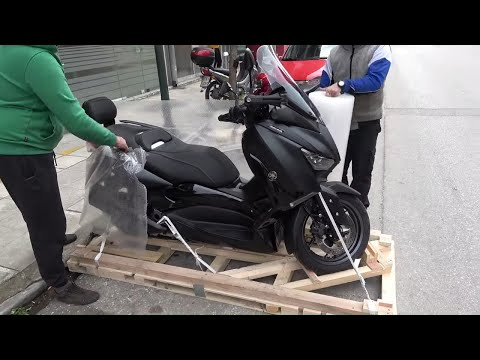 ((in-boxing)) YAMAHA XMAX IRONMAX 2020 scooter