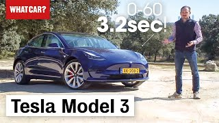 2019 Tesla Model 3 review – the world's best electric car? | What Car?