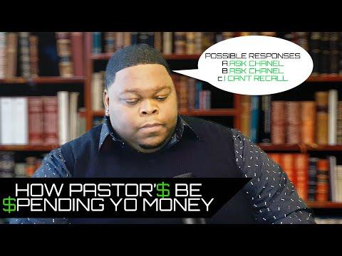 How Pastors Be Spending Yo Money (David E. Taylor Parody) [UPOE INC.]