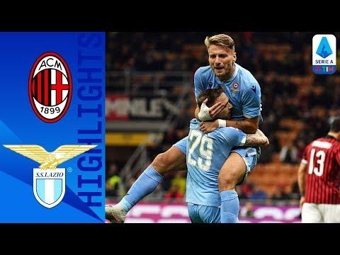 Milan 1-2 Lazio | Immobile On Target As Correa Scores Winner | Serie A