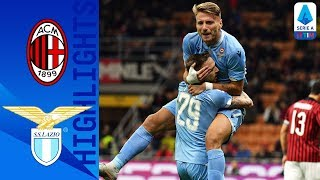 Milan 1-2 Lazio | Immobile On Target As Correa Scores Winner | Serie A