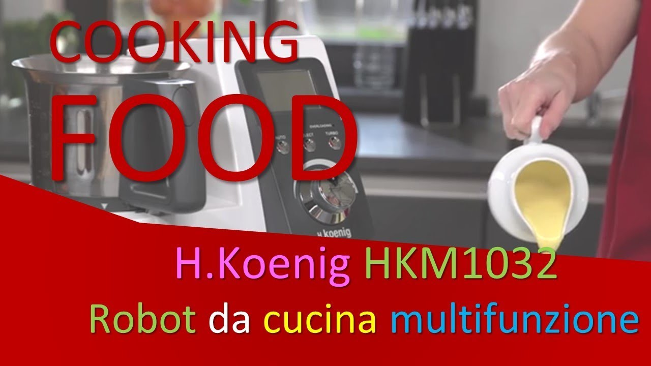 🥦🍝H.Koenig HKM1032 Robot da cucina multifunzione | 9 ...