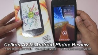 Celkon A225 Android Phone Full  Review