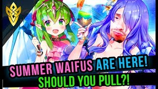 A Sketchy Summer -Should you Pull?! - Summer Waifu's Are Here! | Fire Emblem Heroes